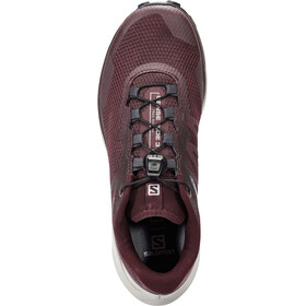 Salomon Sense Ride 3 Chaussures Femme, wine tasting/alloy/burnt coral